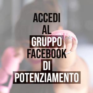 Accedi al GRUPPO facebook di POTENZIAMENTO